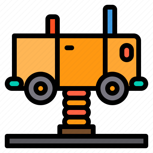 car, kids, park, play, playground, toy icon