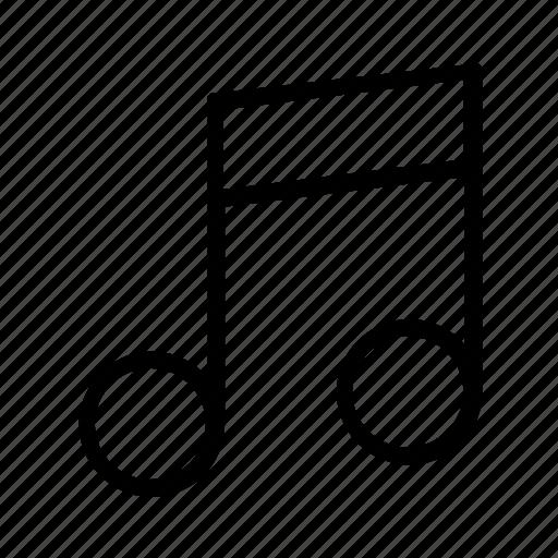 music, music note, musical, musical note, note icon