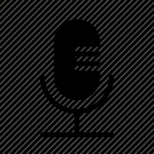 mic, microphone, record, recording, voice icon