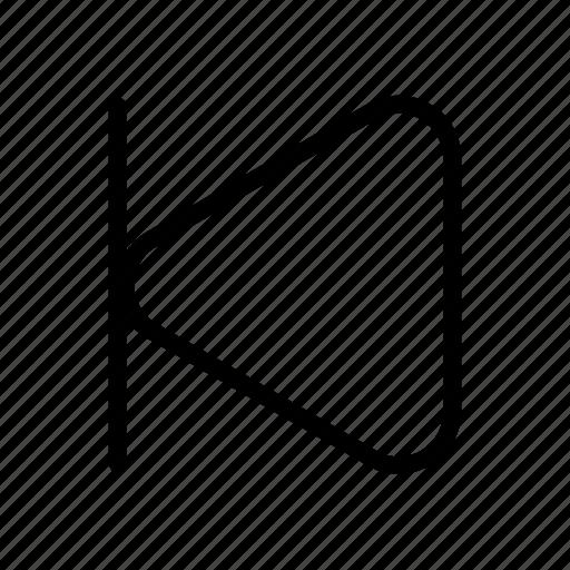 music, player, skip, skip back, skip button, skip previous icon