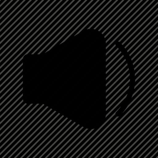 low, quiet, volume, volume button, volume down icon