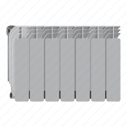 appliance, battery, cartoon, central, climate, comfort, heating icon