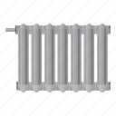 appliance, battery, cartoon, central, climate, comfort, radiator icon