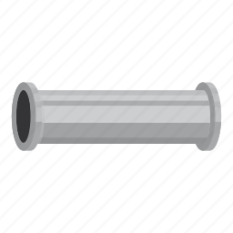 cartoon, conduit, connection, construction, coupling, pipe, water icon