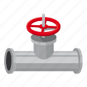 cartoon, conduit, control, engineering, equipment, factory, faucet icon