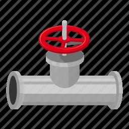 cartoon, conduit, control, engineering, equipment, factory, faucet icon