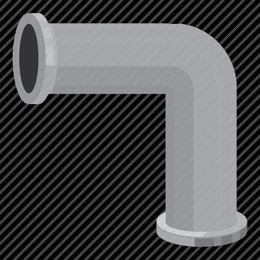 building, cartoon, conduit, connection, construction, piece, pipeline icon