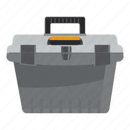 accessory, art, assistance, bag, baggage, cartoon, toolbox icon