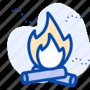 air pollution, burn, fire, pollution icon