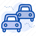 air pollution, cars, pollution, traffic, transport icon
