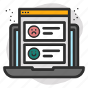 computer, data, document, search, status, website