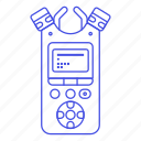 microphone, podcast, receiver, wireless icon