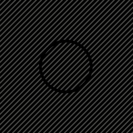 center, circle, pearl, record, records, sphere, world icon