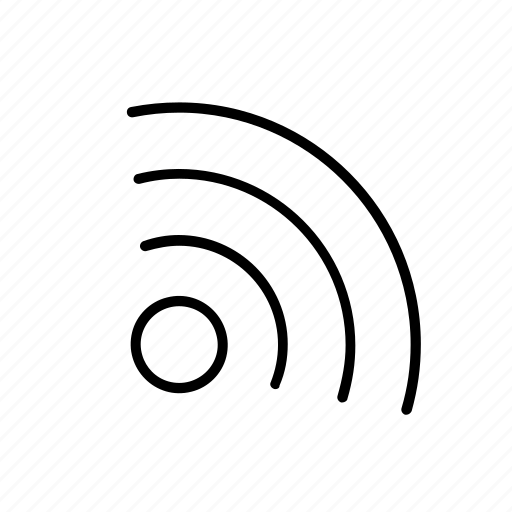 channel, feed, link, music, podcast, radio, rss icon