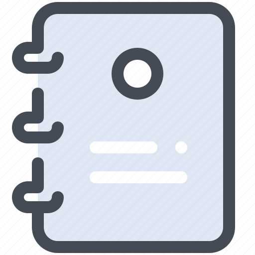 address, book, business, contact icon