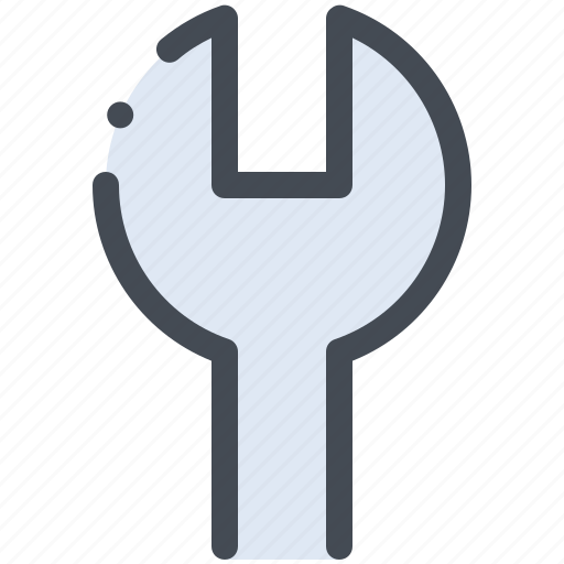 configuration, settings, wrench icon