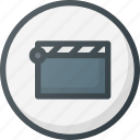 cinema, direction, gps, location, map, place, points of interest icon