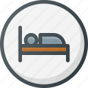 direction, gps, hotel, location, map, place, points of interest icon