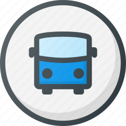bus, direction, gps, location, map, station, stop icon