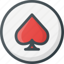 casino, direction, gps, interest, location, map, place icon