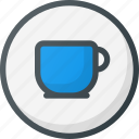 coffee, direction, gps, location, map, place, shop icon