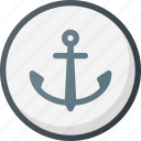 direction, gps, harbor, location, map, place, port icon