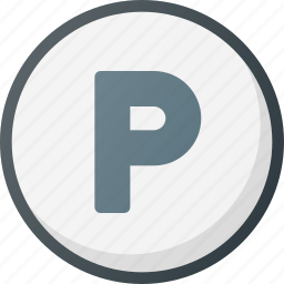 direction, gps, location, lot, map, parking, place icon