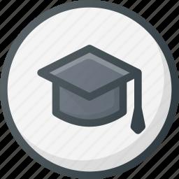 direction, gps, location, map, place, school, university icon