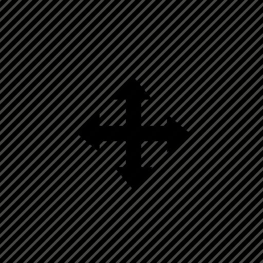 arrow, move, resize icon