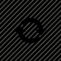 arrow, refresh, repeat icon