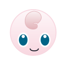 cute, go, jigglypuff, monster, pokemon icon