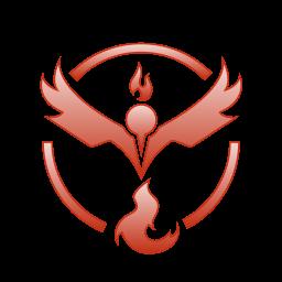 go, pokemon, team, valor icon