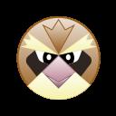 bird, cute, go, monster, pidgey, pokemon icon