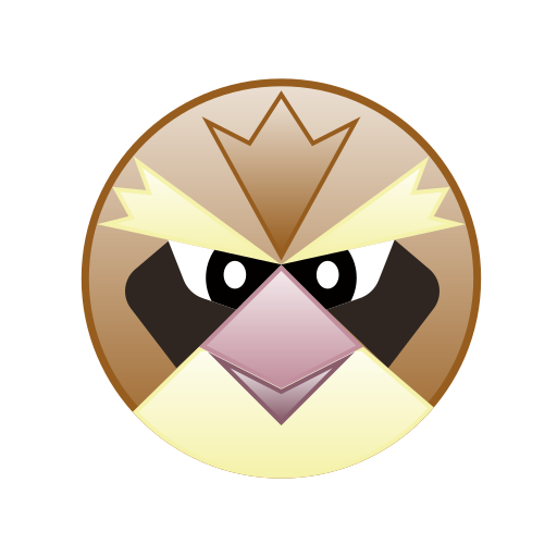 bird, cute, go, monster, pidgey, pokemon icon