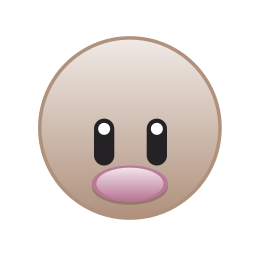 cute, diglett, go, monster, pokemon icon