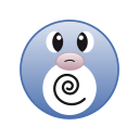cute, go, monster, pokemon, poliwag icon