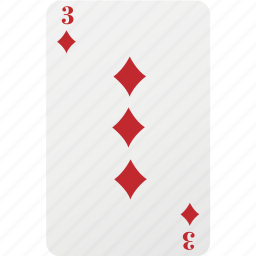 card, diamond, hazard, playing card, poker icon