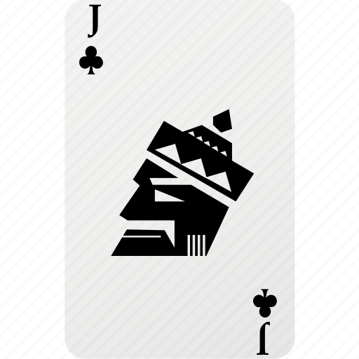 card, club, hazard, jack, palying card, poker icon