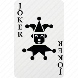 card, hazard, joker, palying card, poker icon