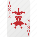 card, hazard, joker, playing cards, poker icon