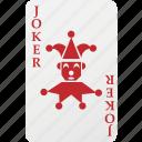 joker, poker, playing cards, hazard, card