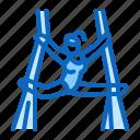 acrobatics, aerial, gymnastics, yoga icon