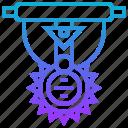 achievement, award, emblem, gallantry, medal