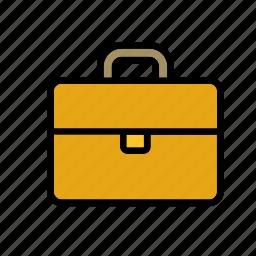 accessory, attache case, briefcase, carrying case icon