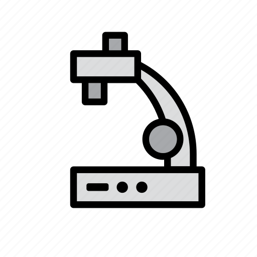 equipment, instrument, lab, laboratory, magnifying, microscope, science icon