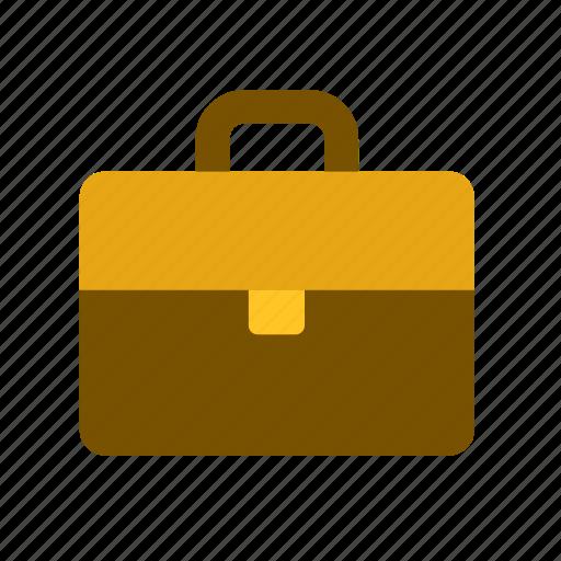 accessory, attache case, briefcase, carrying case, justice, law, overnight case icon