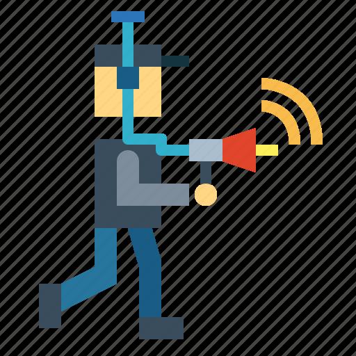 spy, technology, wireless, wiretap icon
