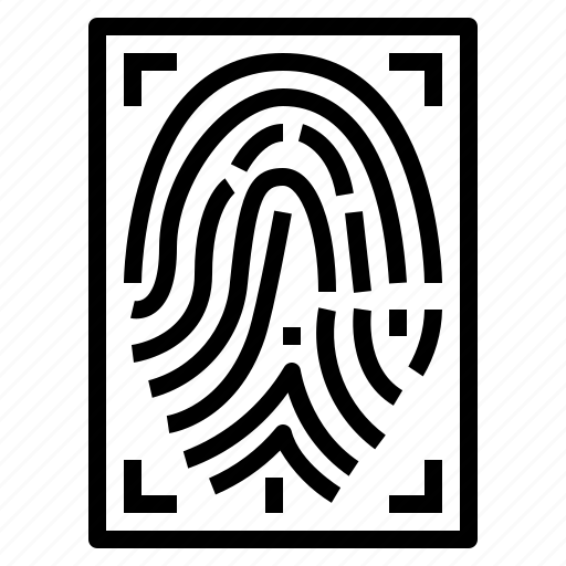 Evidence, fingerprint, identification, recognition icon - Download on Iconfinder