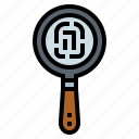 detective, magnifying, search, zoom icon
