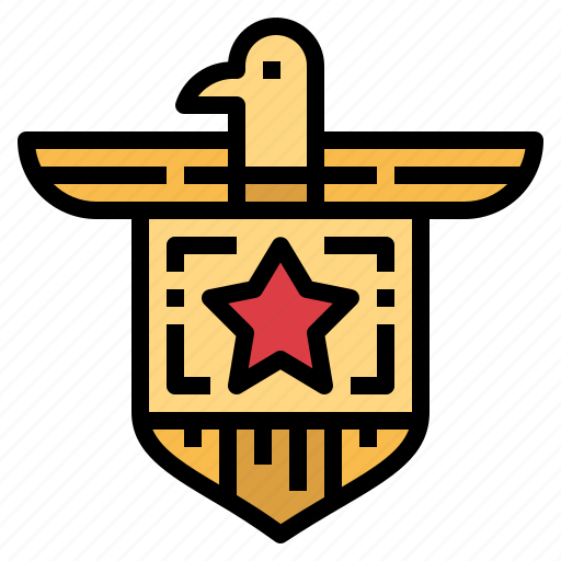 Army, badge, fbi, shield icon - Download on Iconfinder